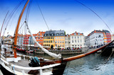 nyhavn sailboat poster