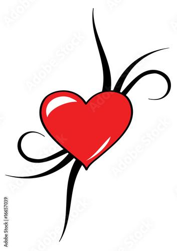 Tatuaggio cuore