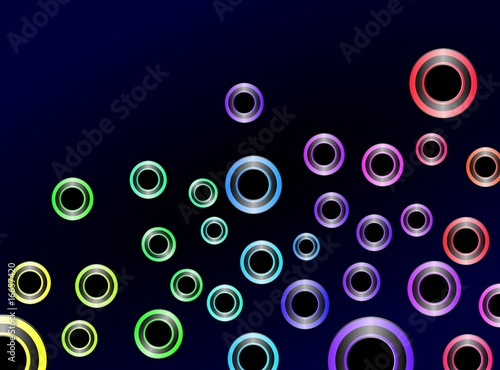 Abstract Colorful Background Vector, Easily Editable.