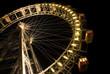 Leinwanddruck Bild - giant wheel