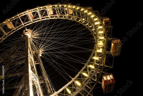 Leinwanddruck Bild giant wheel