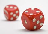 Gambling - Dice poster