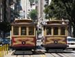 cable cars at san francisco