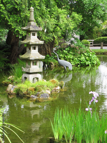 japanese garden in the middle of San Francisco