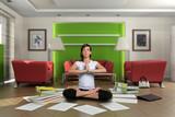 Zen paperwork poster