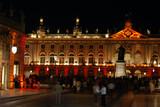 Tourisme à Nancy la nuit poster