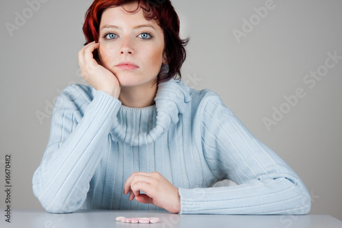 Thoughtful Woman