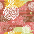 roleta: floral  pattern, seamless background
