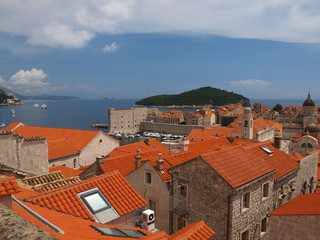 East part of Dubrovnik city, Croatia