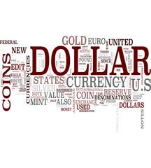 Dollar word cloud