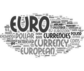 Euros word cloud