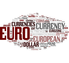 Euro word cloud
