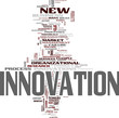 Innovation tag cloud