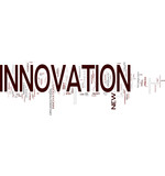 Innovation word cloud poster