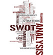 Swot analysis tag cloud