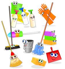 Attrezzi ed accessori pulizia allegri