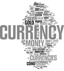 Currency word cloud