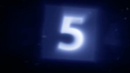 Countdown phrenetic motion