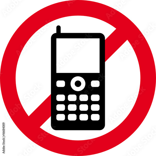 no cellular phones