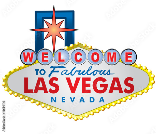 welcome to las vegas sign vector. Las Vegas Welcome Sign