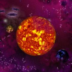 universe and ufo