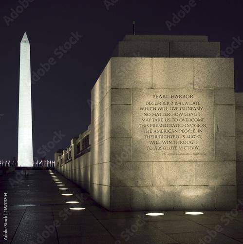 Washington Monument, DC, at Night - 16701204