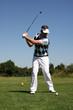GOLF - Golfspieler beim Abschlag
