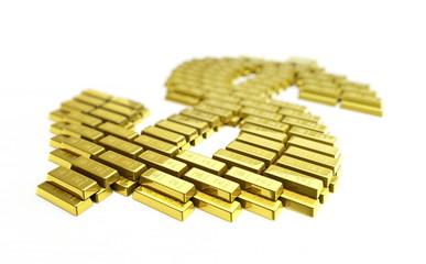 gold symbol dollar