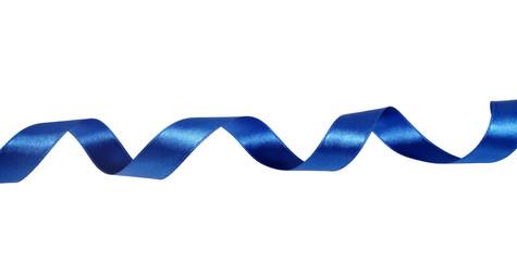 blue ribbon decoration christmas