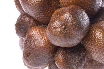 Snake Fruits Isolated