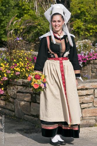 costume traditionnel breton de dx photo libre de droits 16717830 sur. Black Bedroom Furniture Sets. Home Design Ideas