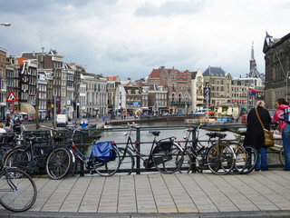 View of central Amsterdam