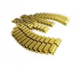 gold symbo euro