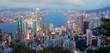 Hong Kong am Abend