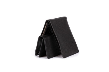 Big and small black purse