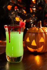 Halloween drinks - Vampire's Kiss Cocktail