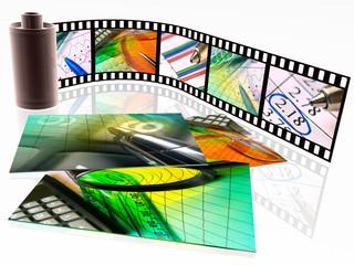Film with photos