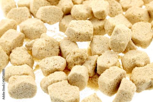 Fabrication du sucre roux