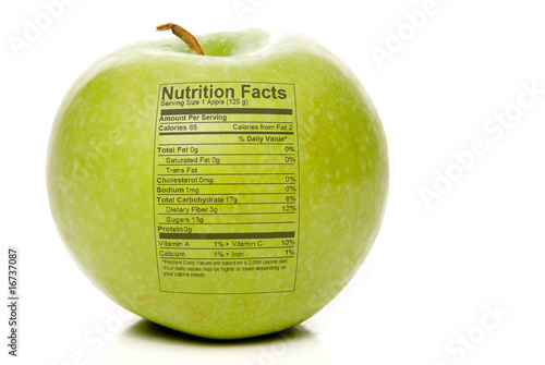 Apple Nutrition Facts © Rob Byron