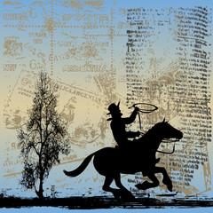 Gaucho Grunge Background
