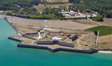 Fototapety Le Fort de la Prée vu du ciel - ile de Ré
