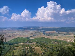 Landscape. Montescaglioso. Basilicata.