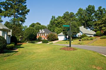 typical american neighborhood