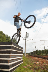 Urban freestyle tial rider
