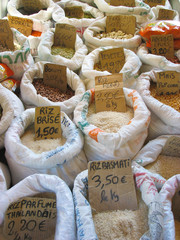 Rice and market