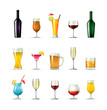 drink icons - 16772608