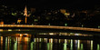quai de saône la nuit, Lyon, France
