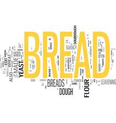 Bread word cloud