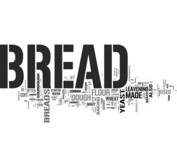 Bread tag cloud