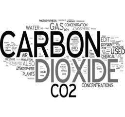Co2 - Carbon tag cloud